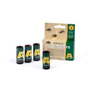 Agralan – Papier Attrape-Mouches adhésif sans Pesticide pour Serre d'intérieur – Lot varié 264