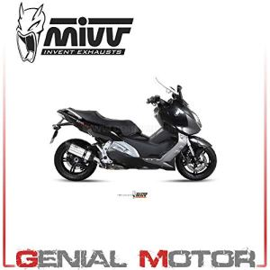 B.013.L7 Pot D Echappament MIVV Suono Inox pour C 600 Sport 2013 13
