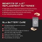 Batterie Ariens 2248H 12V 22Ah Pelouse et Jardin – Ce Produit est Un Article de Remplacement de la Marque AJC®