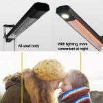 Contrôle à distance Sunlike infrarouge intelligent de chauffage chauffage extérieur portable restaurant électrique Chauffe-cour extérieure chauffage électrique