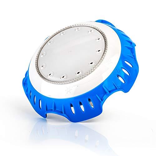 GRE LEDRW Projecteur LED BLANC pour Piscine Hors-sol, Blanche, 16 x 10 x 16 cm