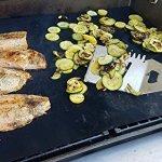 Kona XL Tapis de Grille Grill pour Barbecue et Four Liner–Couvertures de Tapis de l'ensemble du Grill & Four inférieur–Premium Anti-adhésif 63,5x 43,2cm