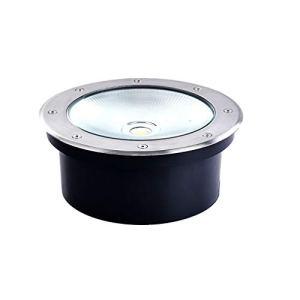 LED Lumière Souterraine, Imperméable 40W IP65 Encastré Étape Patio Chemin De Plein Air Éclairage 12V / 24V / 220V (Color : Warm light-AC12V-Quantity: 16)