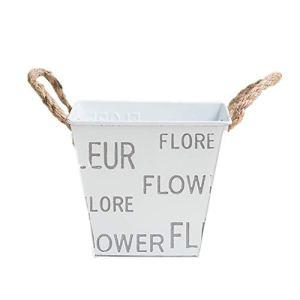 lffopt des Pots de Fleurs pour La Maison des Pots de Fleurs pour Balcon Bacs à Plantes pour Mur Décorations pour la Maison Jardin Décorations Square