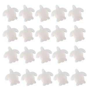 LINSINCH Filtres de Piscine en Mousse Swim Piscine Couverte Etang-Liner Flexible Décoratif Jardin étanche Llow Anti-Fuites 2X3(Blanc 11.5×11.5x3cm)