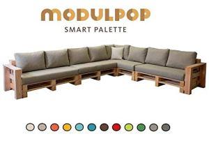 Modulpop Combinaison carré 8 Places accoudoirs