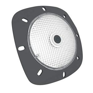 NOTMAD Projecteur LED Autonome Mobile Rechargeable Coloris Gris 18 LED Blanches – Haute Puissance – Bricolage – Piscine – Camping – sur USB