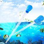 POPETPOP Aquarium Pipette Compte-Gouttes réservoir de Poissons baster Propre Pipette Compte-Gouttes Outil de récupération des déchets d'aquarium 30ml