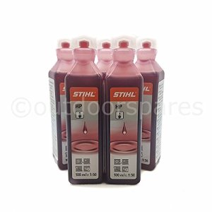 Stihl HP Lot de 5flacons d'huile pour moteur 2temps N°0781 319 8401 100ml
