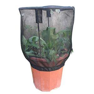 ZARQ Couverture de Filet de Plante, Protecteur Tirette Sac en Filet en Maille Jardin Plante Filet Cage Filet de Jardin pour Plantes Légumes Fruits Protection