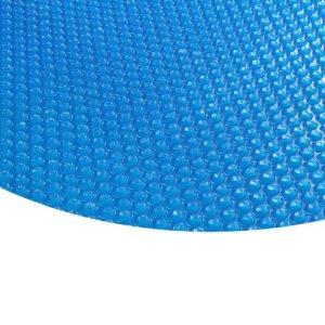Zelsius bâche a bulle de Piscine Blue Ronde I bache Solaire à Bulles Piscine I 400µ – Ronde, 5 m de diamètre