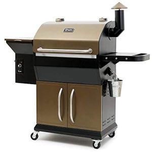 BBQ-Toro Pellet Smoker PG2 | Fumoir entièrement Automatique | Barbecue à Pellet avec Couvercle | Barbecue à Pellet en Bois