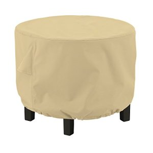 Classic Accessories 55-911-032001-EC Terrazzo Round Ottoman/Coffee Table Cover Large