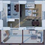 DAHIR INSAAT Le module Maison 2 x 3 50 m2
