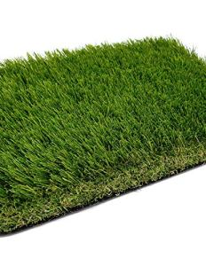 Jardin202 2 x 20 m = 40 m² – Gazon artificiel Venise Deluxe 40 mm – Rouleaux