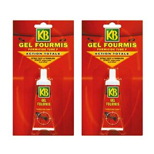 KB JARDIN Anti Fourmis Lot de 2 Tubes Gel 30 grammes