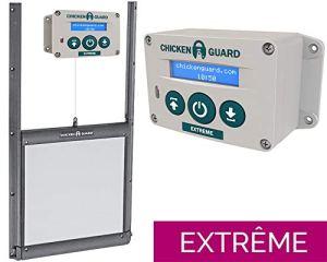 Kit Porte verrouillable et Portier Automatique ChickenGuard Extrême FR poulailler