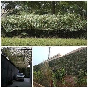 LIYU Ombre pour le filet de camouflage Selva chasse Camo Nets forêt tir militaire masquer maille décoration de fête thématique (Size : 4 x 4 m)