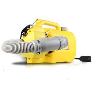 Pulvérisateur électrique Intelligent Fogging Machine 5L Capacité Atomiseur Portable Fogger Froid pour la désinfection de Grandes Surfaces en intérieur extérieur, Jaune (Couleur: Bleu)