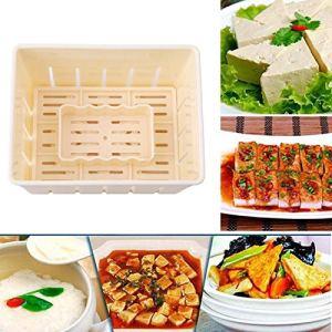 Tofu en Plastique Presse Moule Bricolage Maison Tofu Moule Soja Caillé Tofu Faisant Moule avec Fromage Tissu Ustensiles Cuisine Outil De Cuisine