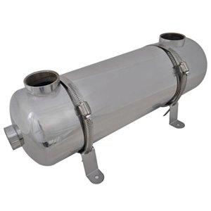 vidaXL Échangeur de Chaleur pour Piscine 485×134 mm 60 KW Échangeur Thermique