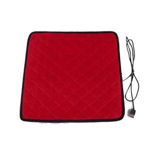 XGYUII Coussin électrique Coussin Chauffant graphène Chauffage Coussin Coussin Kinésithérapie 5 V avec Interface USB de Bureau Voiture Coussin Genoux Multi-Function Pied Muscle,Rouge