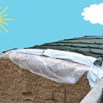 1 grille de protection en silo de 25 m – 6 grilles de protection contre les oiseaux – Filets de protection en siloze – Grillage vert – Filet de protection en silo super stable – 220 g