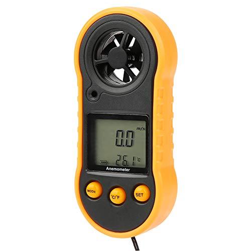 Anémomètre Digital Wind Speed for HVAC CFM Tester Air Flow Speed Wind Chill