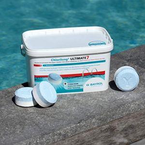 Bayrol Tablettes de Chlore, Chlorilong Ultimate 7 4,8 kg weiß