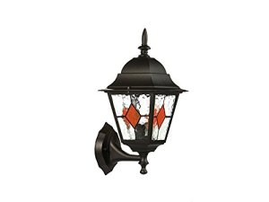 Bellotti BEC013Sibilla Lampe d'extérieur, UP Noir