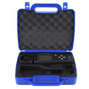 Brrnoo Anémomètre numérique, jauge de Vitesse du Vent, Portable pour la pêche au cerf-Volant Volant
