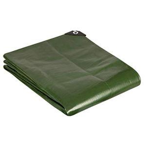 GardenMate Bâche de protection 1,5x6m qualité premium VERTE – résistante aux UV, imperméable et lavable