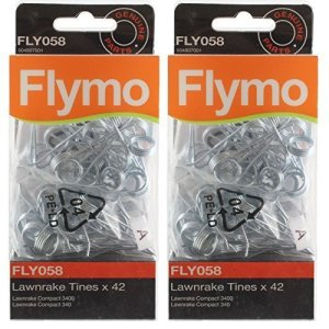 Genuine Flymo Compact 3400 340 Lawnrake Tines (FLY058) by Flymo