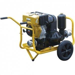 Groupe motopompe à membrane diesel pour eaux très chargées orifice 3″ WORMS