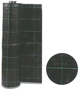 HOMEGARDEN Serviette pour paillage mauvaises herbes Noir cm2,10x 100m Tissu semer