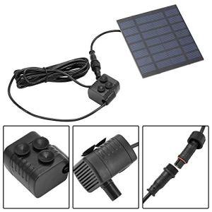 icoco 6V 1.2W petit panneau solaire angetriebene Pompe à eau fontaine pour bassin de jardin