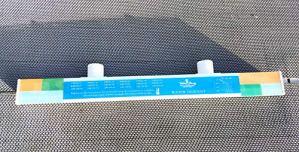 Lame d'eau Cascade en Acrylique Largeur 90cm