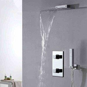 Luxurious shower Vente en gros 2016 Nouvelles de haute qualité Set de bain Douche cachée d'arrivée,Effacer