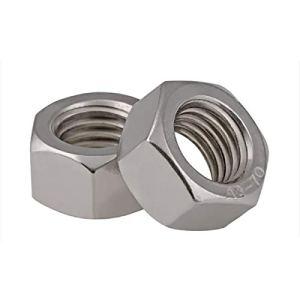 M1 / M1.2 / M1.4 / M1.6 / M2 / M2.5 / M3 / M4 / M5 / M6 304 en acier inoxydable écrou hexagonal filetage métrique, M30 (100Pcs A Lot), Taille