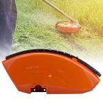 Mxtech Débroussailleuse/Garde-Tondeuse en Plastique, Remplacement du déflecteur de Tondeuse à Gazon pour Tondeuse à Gazon Stihl FS120 FS200 FS250 Débroussailleuse Coupe-Herbe