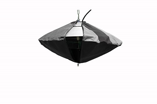outTrade HW10 Protection pour radiateur Mural ou de Plafond Diamètre 60 cm
