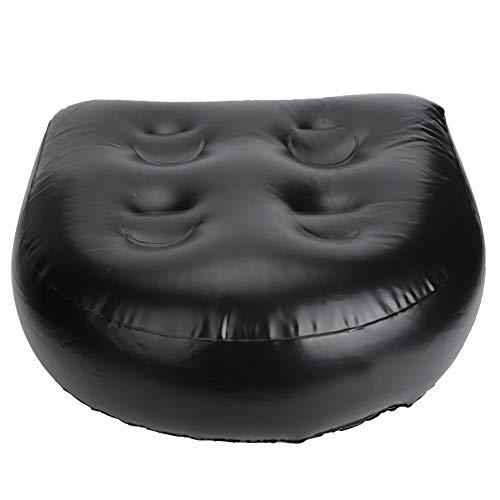 Pbzydu Coussin de Spa Gonflable détachable d'injection d'eau Pratique de 16,5 x 16,9 x 3,1 Pouces, Coussin de Massage Confortable par Injection d'eau, pour Les Sources Chaudes de Spa