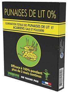 PLAQUETTE POUR LITERIE ANTI- PUNAISES DE LIT ET ANTI- ACARIENS EFFICACE A 100%