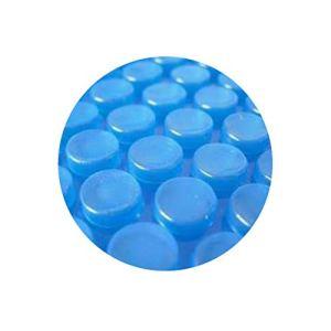 Pool System Protection Bâche Solaire de Piscine à Bulles sans Renfort ÉCONOMIQUE 600µ 5 x 3m Bleu