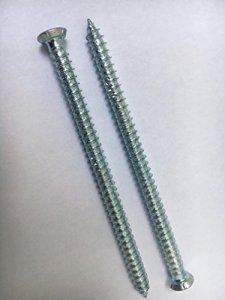 Profi-buy jD-pLUS/fensterrahmenschrauben 7,5 x 132 mm/lot de 100 vis à têtes fraisées 11 mm et 1 pour panneaux d'30 (pour plastique-profile)
