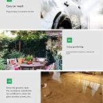 Rétractable Dévidoir avec tuyau et buse de pulvérisation, Tuyau compact de stockage Kit de support for le jardin, Patio, nettoyage des pelouses et de lavage de voiture GAONAN (Size : 16m+20m)