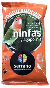 Serrano a-02250suprême Ninfas et inséparable–25x 800GR