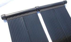 SPIRATO PD-01206 Chauffage Solaire pour Piscine Noir 3 m