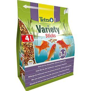 Tetra Pond variété Sticks 4L BAG