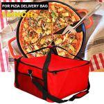 Tissu Oxford Insulated Pizza Livraison Sac 16″Pizza Professionnel Sac Livraison Holder Supplémentaire De Stockage D'isolation pour Garder Votre Pizza Chaud Plus Longtemps